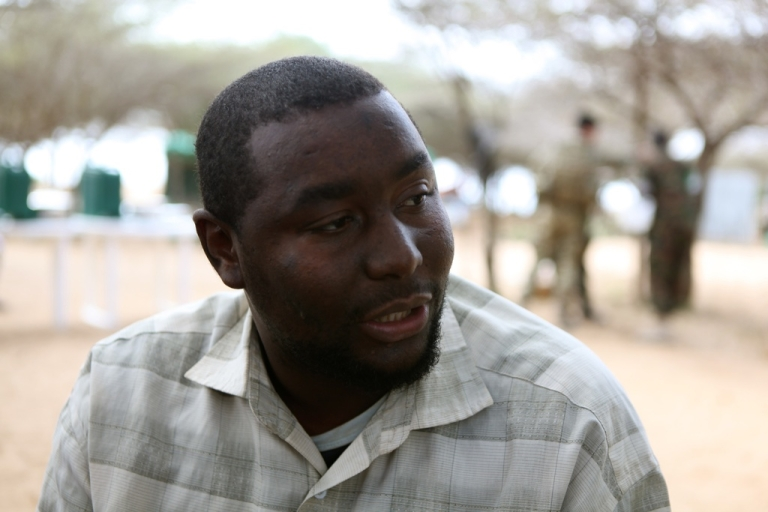 <p>Muhsin, a former Al Shabaab finance manager, defected earlier this year when the Al Qaeda-affiliated militant group retreated from towns close to Mogadishu, Somalia's capital.</p>