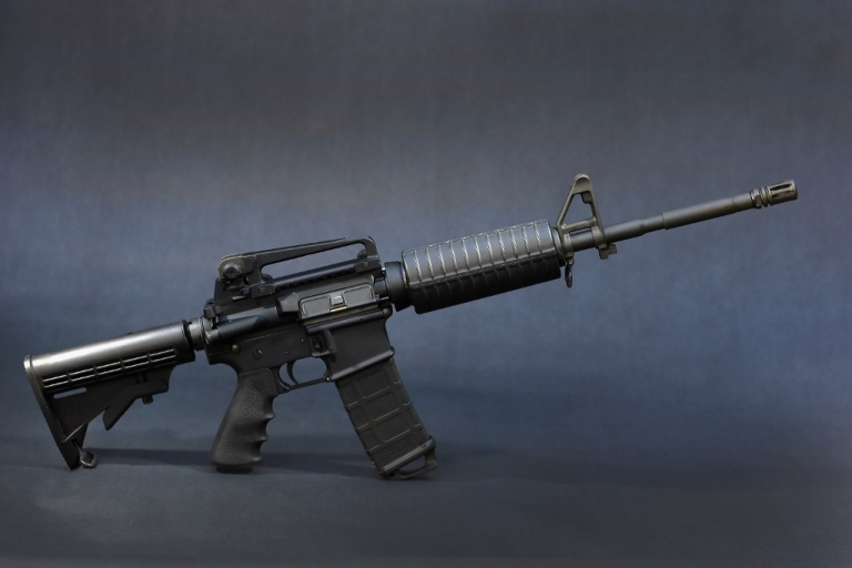<p>An AR-15 Dec. 18, 2012 in Miami, FA.</p>
