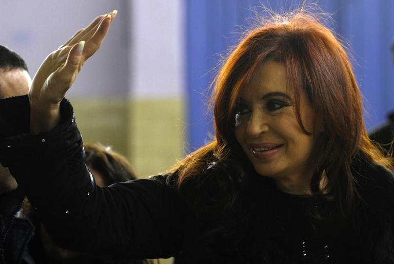 <p>Argentine President Cristina Fernandez de Kirchner was elected in 2007 after her husband Nestor Kirchner died. While he was president, some referred to the couple as the