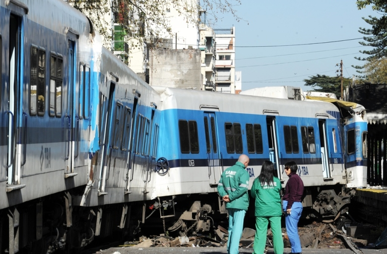 <p>At least seven people died in the Tuesday crash.</p>