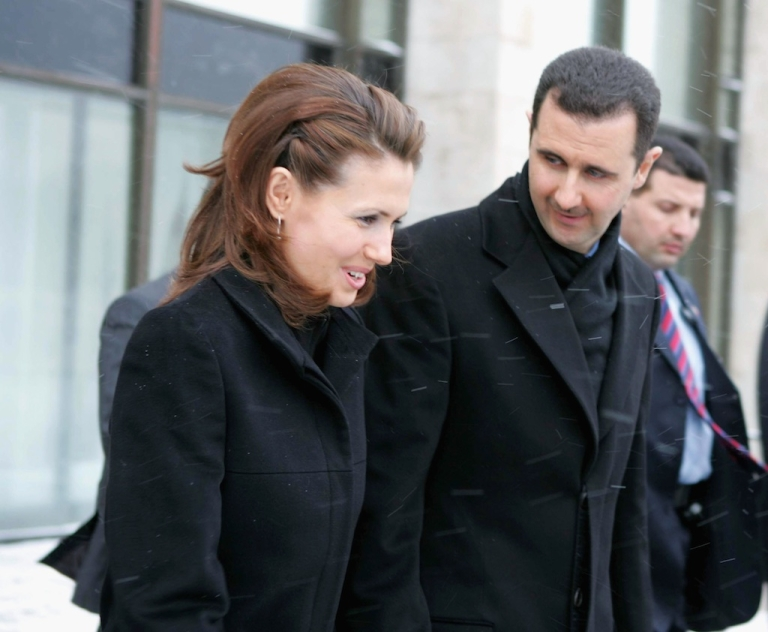<p>Syrian dictator Bashar Assad and his wife Asma Assad spent thousands of dollars to groom their international reputation, the New York Times reported.</p>