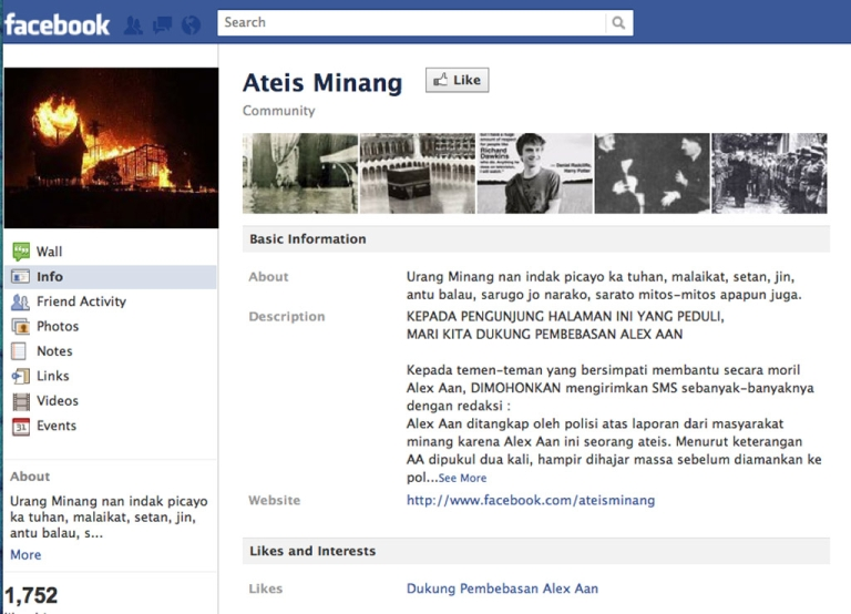 <p>This atheist Facebook page could land an Indonesian man in prison for up to five years.</p>