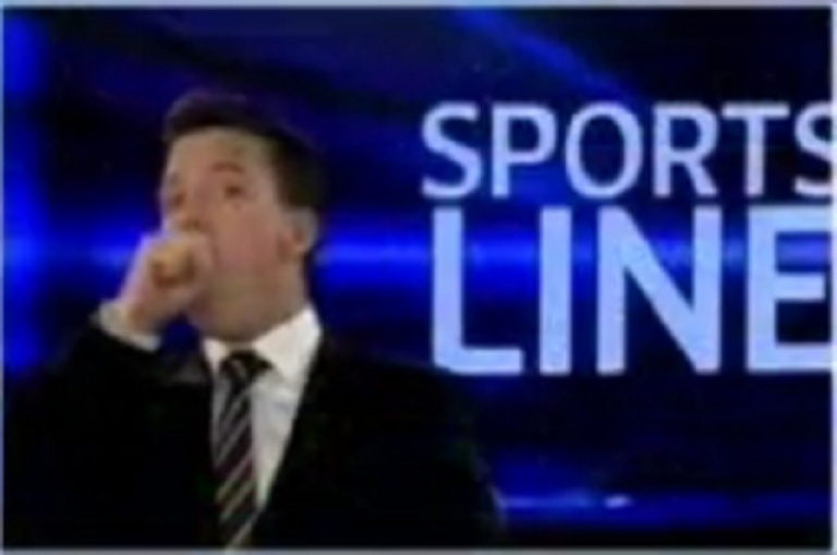 <p>Australian Sky News presenter James Bracey insists he was coughing and not mimicking oral sex when the camera unexpectedly cut back to him.</p>
