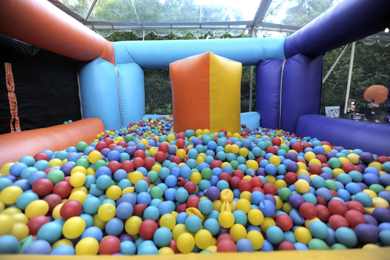 <p>An Arizona mother has launched a campaign against unsanitary conditions at fast-food restaurant play areas, saying that ball pits and other play equipment for children are often crawling with bacteria.</p>