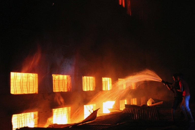 <p>At least 112 people died in what is now the deadliest fire to ever hit the country's garment industry.</p>