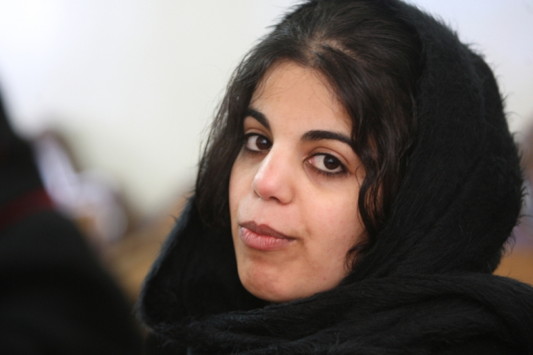 <p>Baraa Melhem was rescued on Jan. 21 and now lives with her mother in the West Bank.</p>