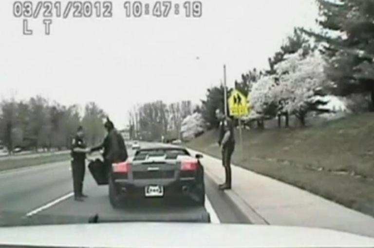 <p>Batman, were you speeding?</p>