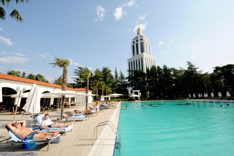 <p>Batumi's new five-star Sheraton hotel.</p>