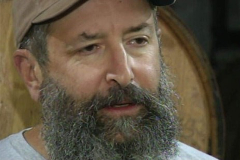 <p>Rogue Ales Brewmaster John Meier and his beer-producing beard.</p>