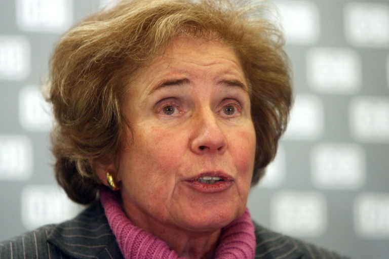 """<p>Beate Klarsfeld shot to fame in November 1968 when she invaded the stage at the Christian Democratic Union party conference and slapped then-German Chancellor Kurt Georg Kiesinger, shouting """"Nazi! Nazi! Nazi!"""" in reference to Kiesinger's past role as a functionary in Joseph Goebbels' propaganda ministry.</p>"""