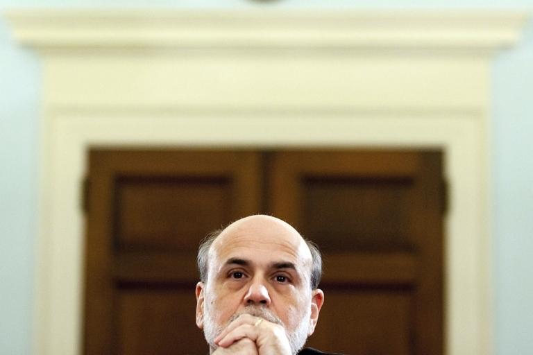 <p>U.S. Federal Reserve Chairman Ben Bernanke.</p>