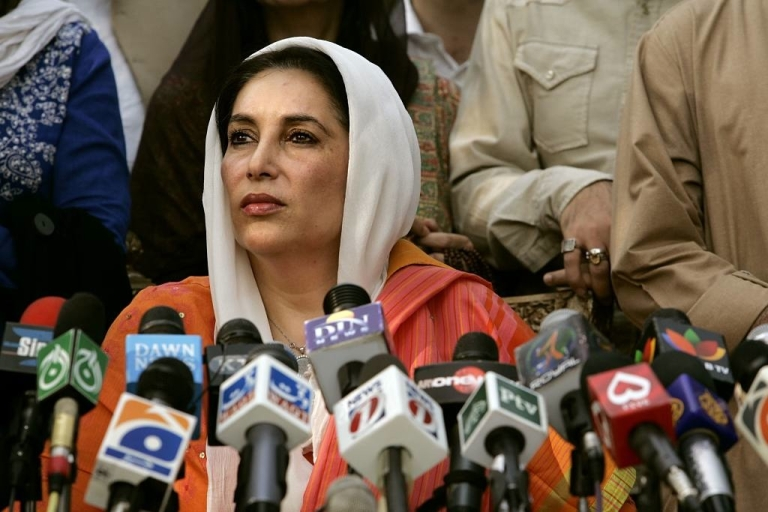 <p>Benazir Bhutto served twice as the prime minister of Pakistan, from 1988 to 1990, and again from 1993 to 1996. She was the first elected woman to lead a Muslim state. In addition to facing corruption charges, she spent eight years in exile when the country was at the hands of the military dictatorship. Upon returning to Pakistan, she was assassinated during a campaign rally for her party on Dec. 27, 2007.</p>