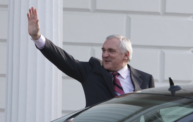 "<p>Bertie Ahern said his decision to leave the party was a ""political"" move rather than an admission that he had lied about his past finances.</p>"