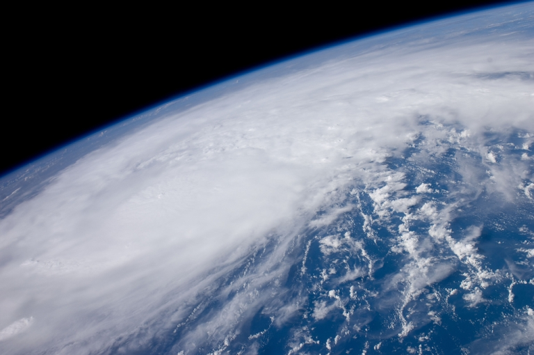<p>Recently-formed Hurricane Irene is seen August 22, 2011 over the coastal waters of Venezuela. At  the time Irene was packing winds of 80mph and was just north of the Mona  Passage between Hispaniola and Puerto Rico.</p>