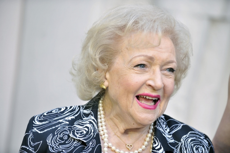 <p>Betty White on May 10, 2012 in North Hollywood, California.</p>
