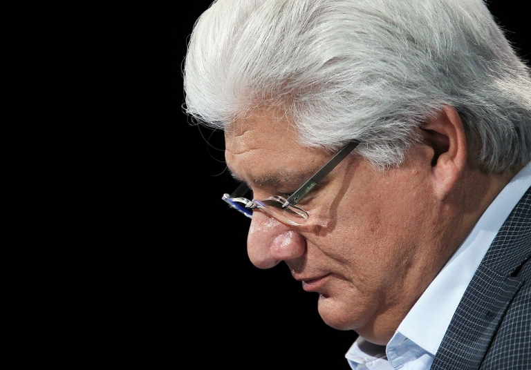 <p>Mike Lazaridis, who founded RIM in 1984, told a press conference at the company's headquarters in Waterloo, Canada that