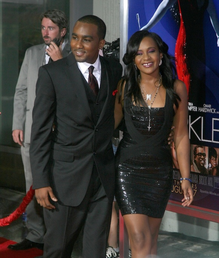 <p>HOLLYWOOD, CA - AUGUST 16: Bobbi Kristina Brown (R) and Nick Gordon arrive at the Los Angeles Premiere of 'Sparkle' at Grauman's Chinese Theatre on August 16, 2012 in Hollywood, California.</p>