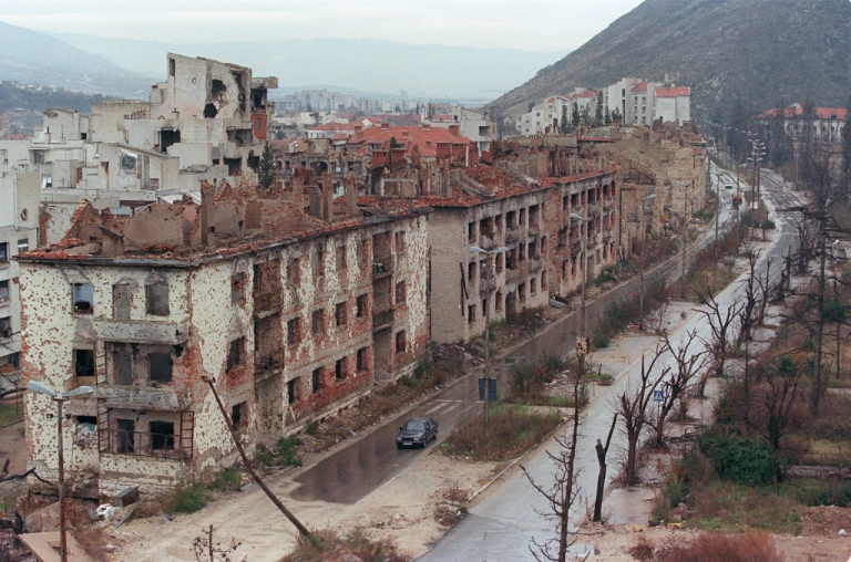<p>A picture taken on Dec. 18, 1995 shows a general view of