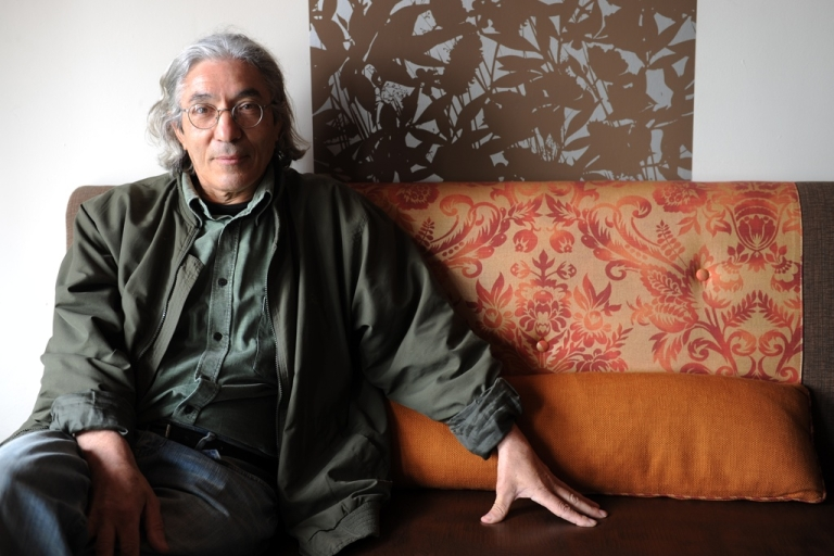 <p>Algerian author Boualem Sansal poses in Los Angeles, Calif. on May 15, 2010.</p>