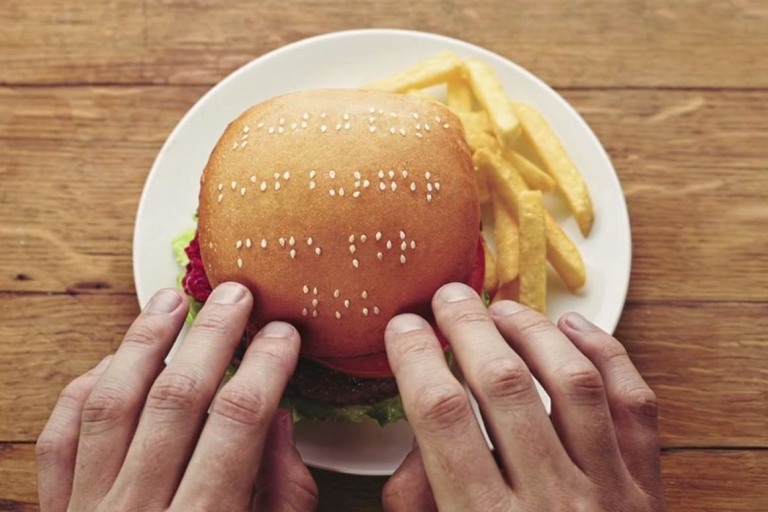 <p>A screengrab from the Wimpy burger chain commercial created by ad agency Metropolitan Republic South Africa.</p>