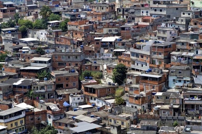 <p>The Morro do Alemao shantytown in Rio de Janeiro, on Nov. 29, 2010.</p>