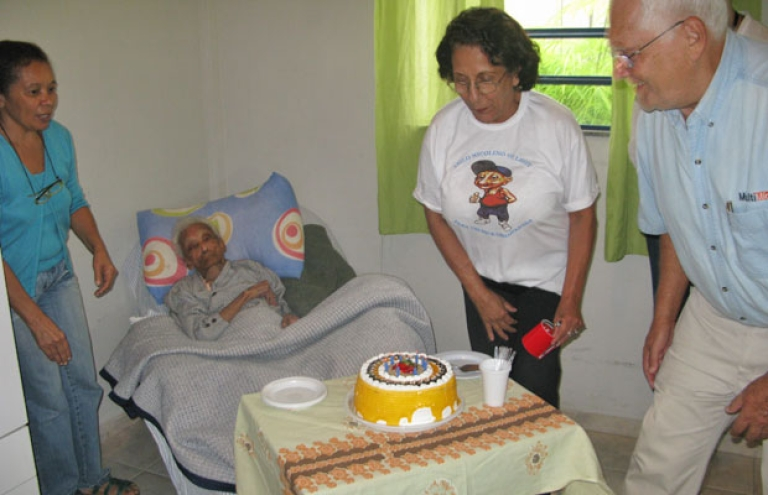<p>At 116 years old, Dona Sebastiana of Resende, Brazil is reported to be the world's oldest woman.</p>