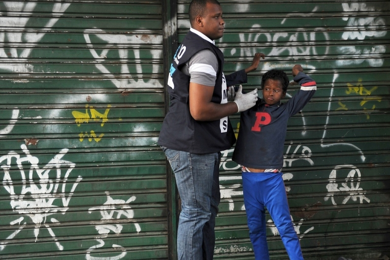 <p>An anti-narcotic operation at the Jacarezinho favela in Rio de Janeiro, on July 19, 2011.</p>