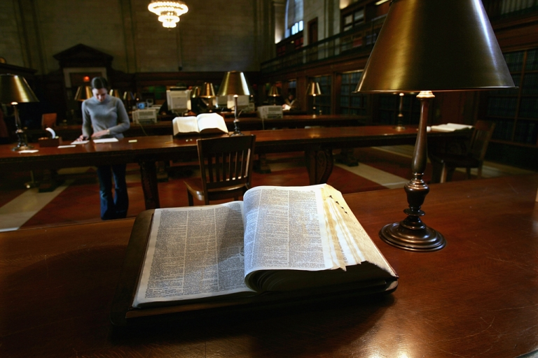 <p>The Encyclopedia Britannica has announced it is switching over to digital-only. How much longer will we be flipping through our research ressources?</p>