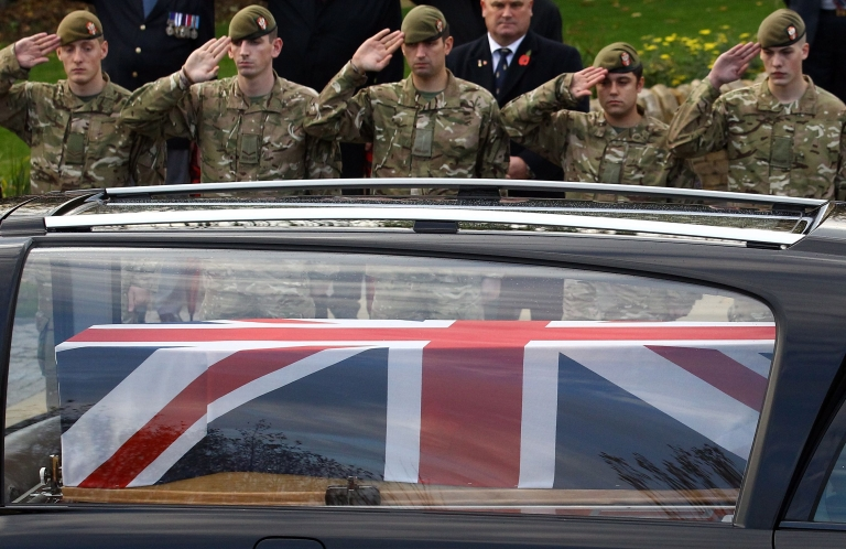 <p>The deaths bring the number of British service personnel killed in Afghanistan since the start of operations in 2001 to 404.</p>