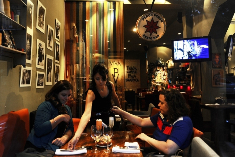 <p>Peron Peron restaurant in Buenos Aires.</p>