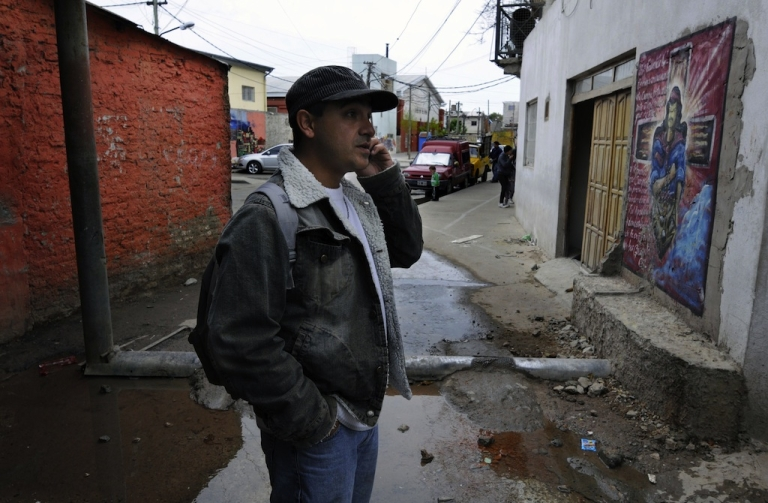<p>Villa 21 shantytown in Buenos Aires, on Oct. 4, 2011.</p>