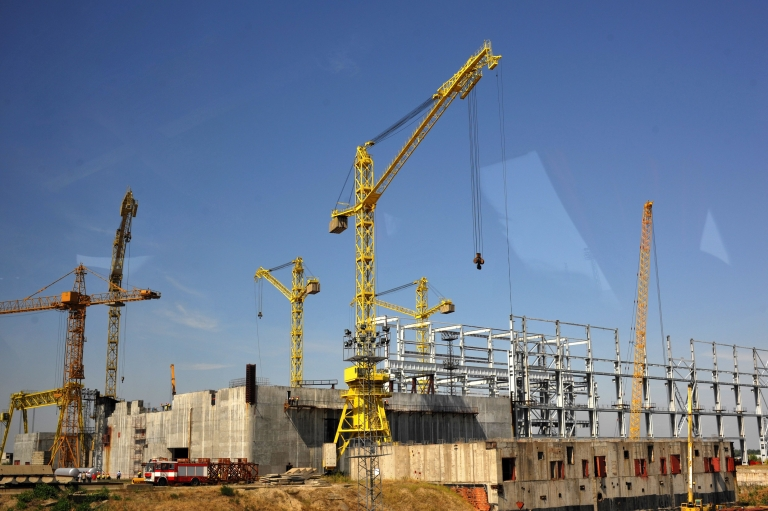 <p>Construction of the Belene power plant is already well under way.</p>