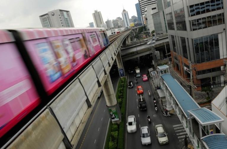 <p>Bangkok's elevated
