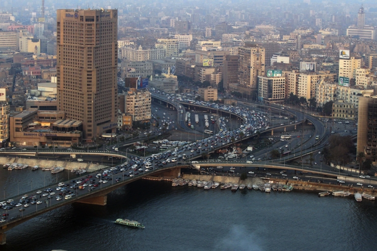 <p>Crowded, congested Cairo is ranked by the Economist as one of the world's least competitive cities.</p>