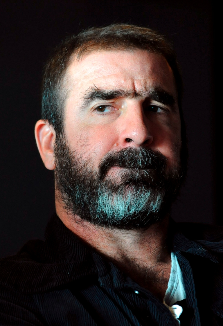 <p>Eric Cantona - football player, actor, activist and now presidential candidate</p>