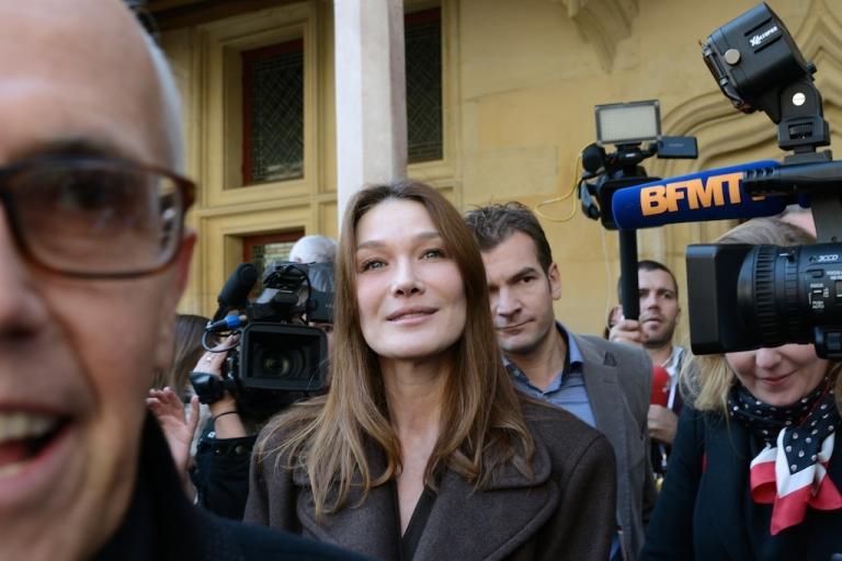 <p>Carla Bruni-Sarkozy is restarting her music career.</p>