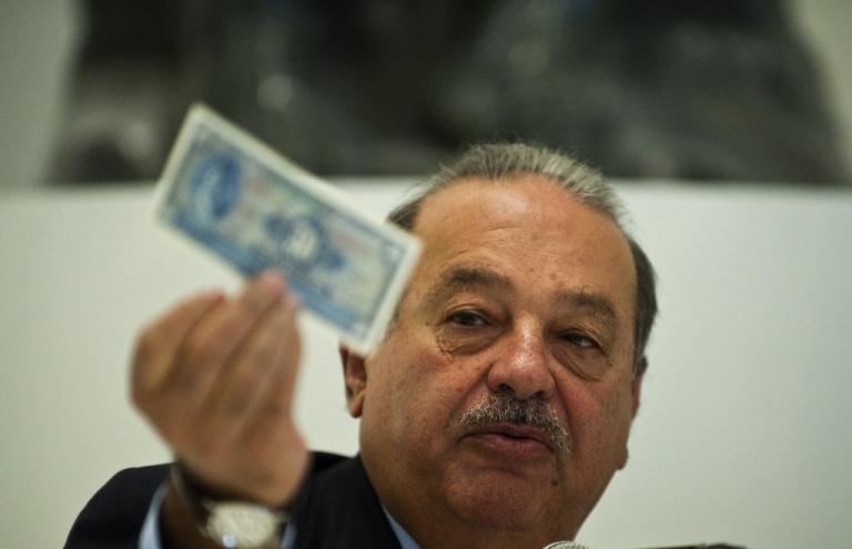 <p>Mexican tycoon Carlos Slim just got a little richer. His company, America Movil, reported a 37.5 percent jump in first quarter net profit.</p>