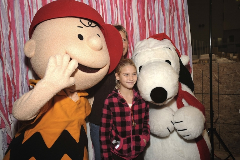<p>Charlie Brown (L) and Snoopy attend 'Snoopy Brings A Little Love To Long Beach' on December 12, 2012 in New York City.</p>