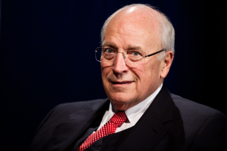 <p>Former Vice President Dick Cheney is interviewed at SiriusXM studios on Oct 25 in Washington.</p>