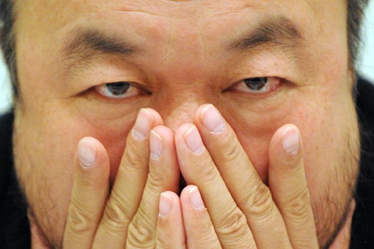 <p>Chinese artist Ai Weiwei.</p>