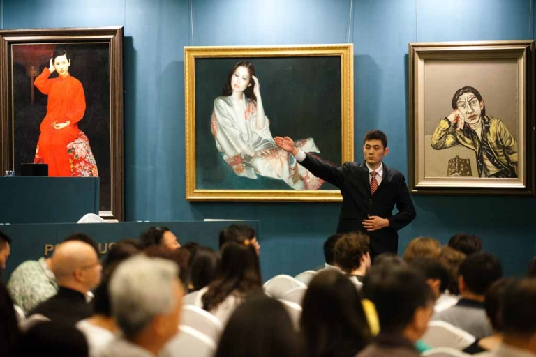<p>Poly 2012 Spring Art Auction in Beijing, June 2, 2012.</p>