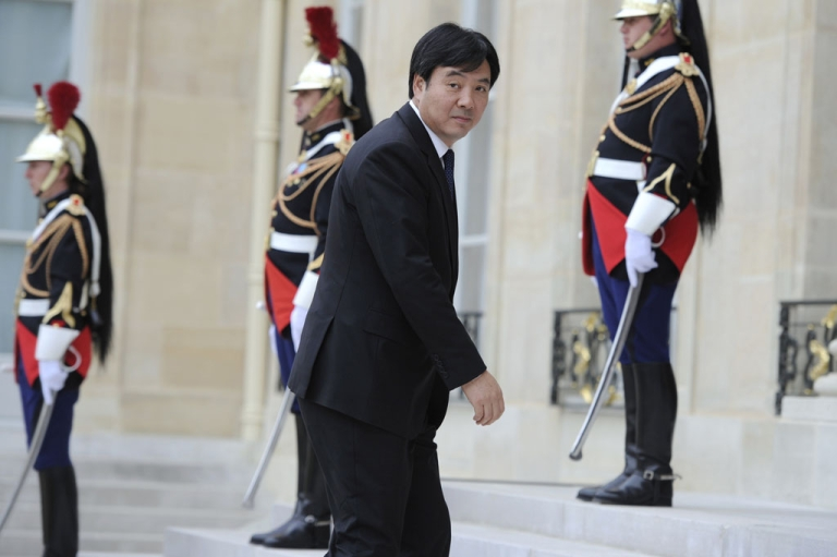 <p>China's foreign affairs Vice-Minister in charge of Africa and Middle-East  Zhai Jun arrives at the Elysee Palace before a summit on the post-Gaddafi era on Sept. 1, 2011 in Paris. This week, China became the last U.N. Security Council member to recognize the Libyan rebels as the leaders of the North African country.</p>