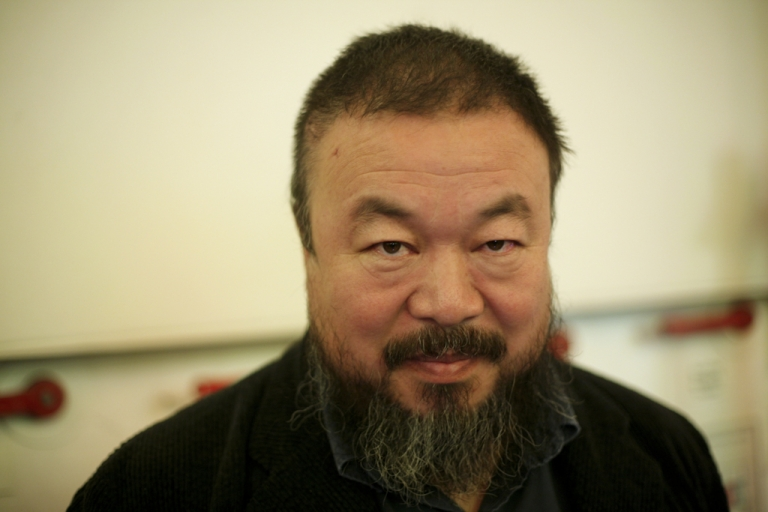 <p>Artist Ai Weiwei is a defiant critic of China's government.</p>