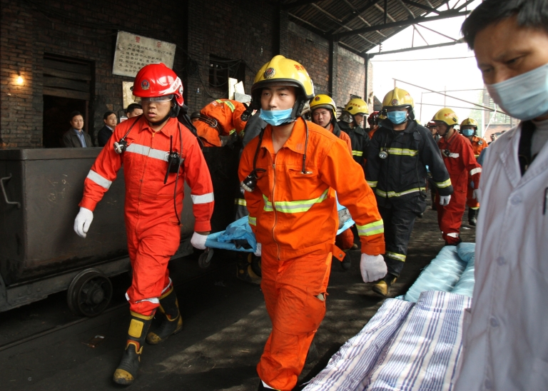 <p>Another China mine explosion leaves 20 dead and 23 missing.</p>