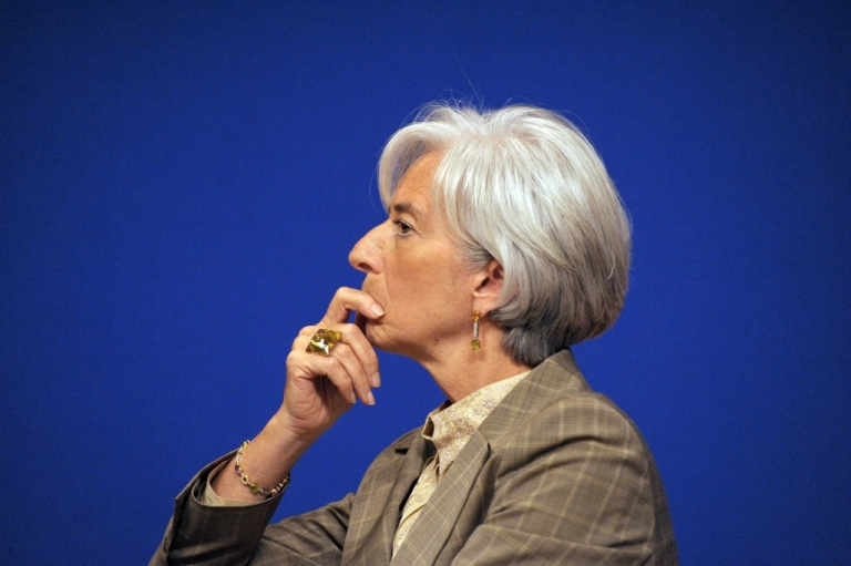 <p>No, IMF chief Christine Lagarde doesn't like what she's seeing in Washington, D.C. these days.</p>