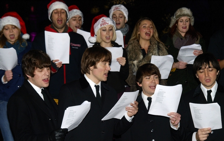 <p>Singing is good for the soul – and will help you get in the festive mood.</p>