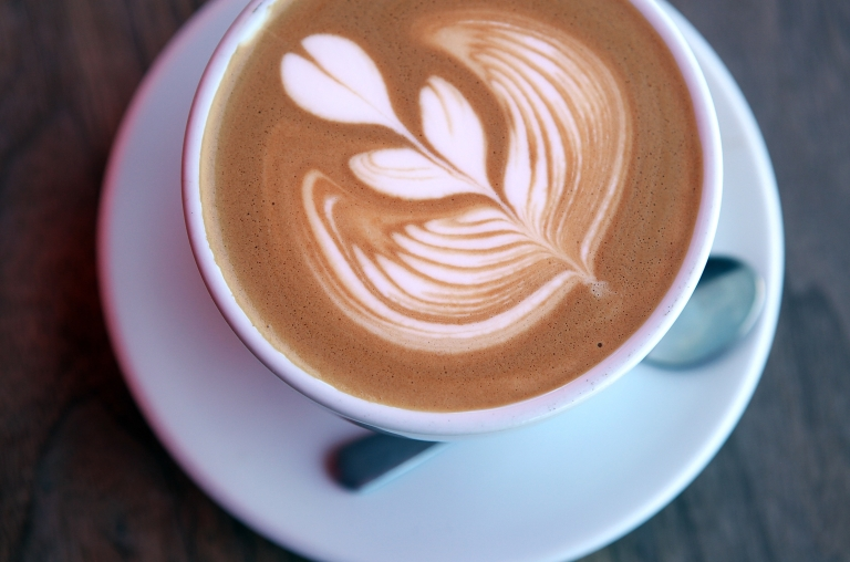 <p>A freshly made cappuccino at Ritual Coffee in San Francisco, Calif., on Aug. 26, 2011.</p>