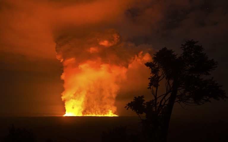 <p>Africa's most active volcano, Nyamuragira (also known as Nyamulagira), located in the Democratic Republic of Congo, began erupting November 6, 2011.</p>