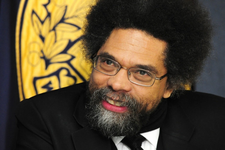 <p>Princeton University Professor Dr. Cornel West criticized President Obama's choice of Martin Luther King Jr.'s bible for his inauguration during a panel on CSPAN last week. Dr. West said the move was