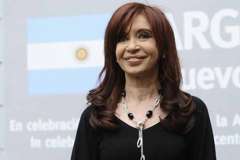 <p>Argentina's president has a reason to smile again.</p>